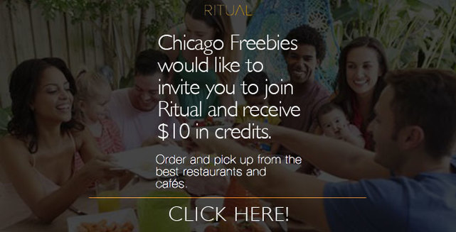 Download Ritual app and never wait for lunch again!